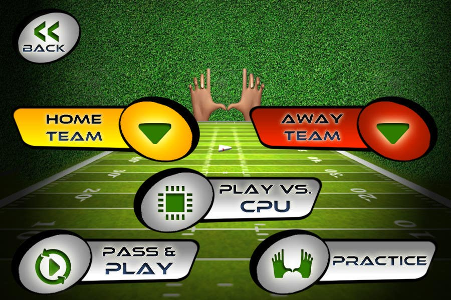 #145 for Graphic Design - Give our Paper Football Game Menus a NEW LOOK! by logodesire