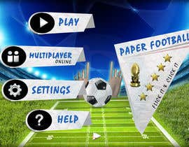 #122 cho Graphic Design - Give our Paper Football Game Menus a NEW LOOK! bởi DLS1