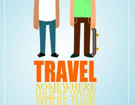 "#5 for Illustrate Something for the quote: ""If you're going to travel, go somewhere where your accent is sexy."" by mosartes"