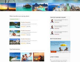 #5 for Design a Website Mockup for our travel review website (saveNtrip.com) by webidea12