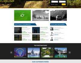 #9 for Design a Website Mockup for our travel review website (saveNtrip.com) by xsasdesign
