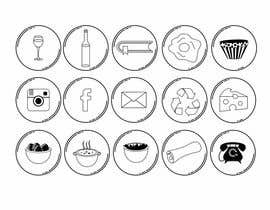 #35 pentru Design some Icons for French Website de către stojicicsrdjan