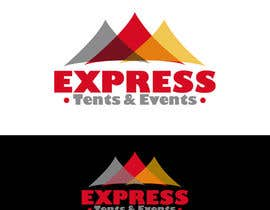 #51 pentru Design a Logo for 'Express Tents & Events' de către mariacastillo67