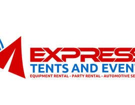 #104 for Design a Logo for 'Express Tents & Events' by cbarberiu