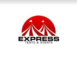 #94 for Design a Logo for 'Express Tents & Events' by ZahidAkash009