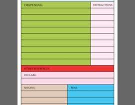 #1 para Diagramar um modelo de página | Create a page template por AMRUTHANATH69