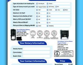 #115 for Design and Easy to Use Order Form / Flyer by marufkhan955