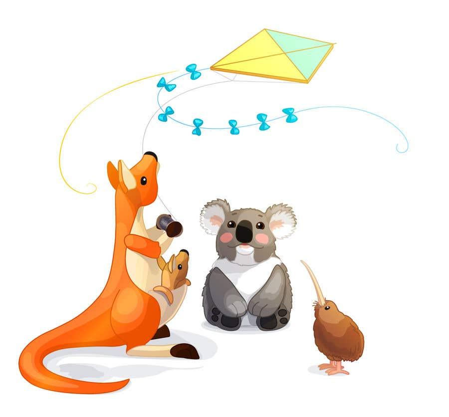 Penyertaan Peraduan #                                        34                                      untuk                                         Create animated Australian animal characters