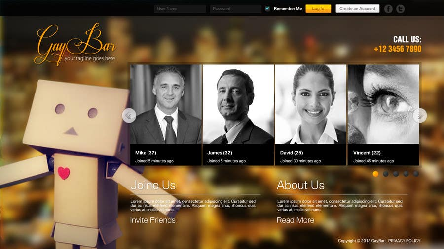Website Design Contest Entry #10 for Website Design for a social network