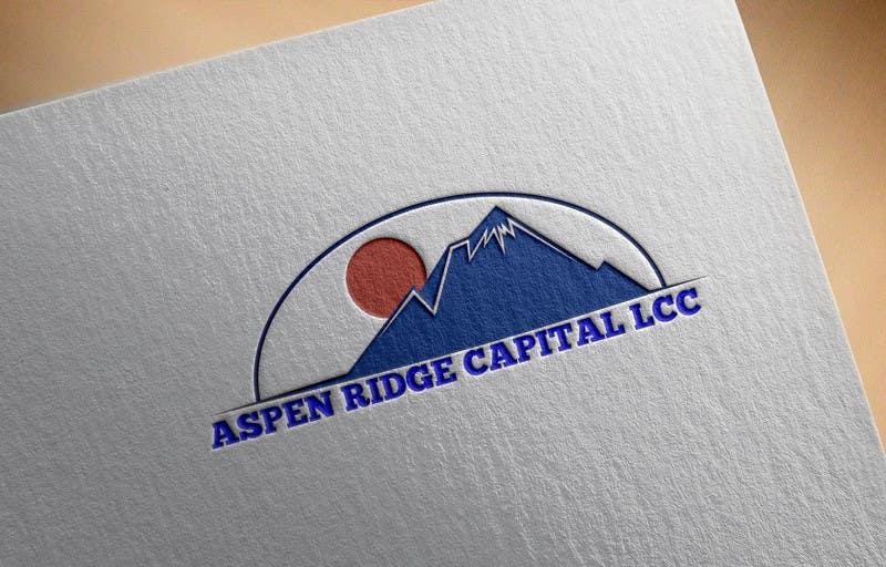 """Intrarea #4 pentru concursul """"Design a Logo for Aspen Ridge Capital LLC"""""""