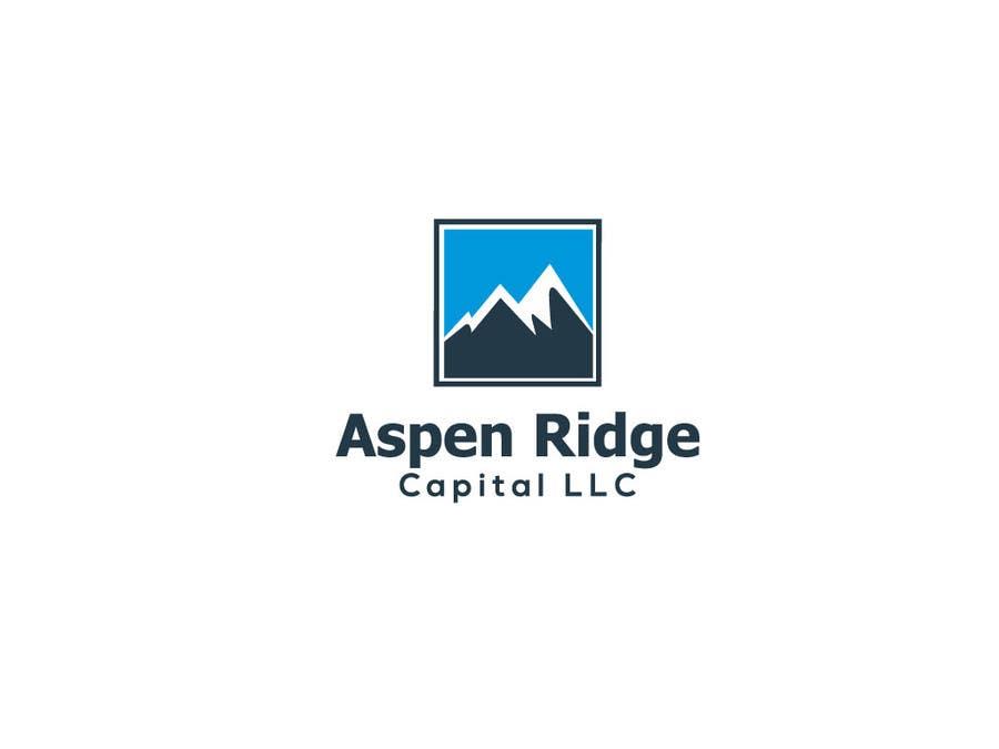 """Intrarea #15 pentru concursul """"Design a Logo for Aspen Ridge Capital LLC"""""""