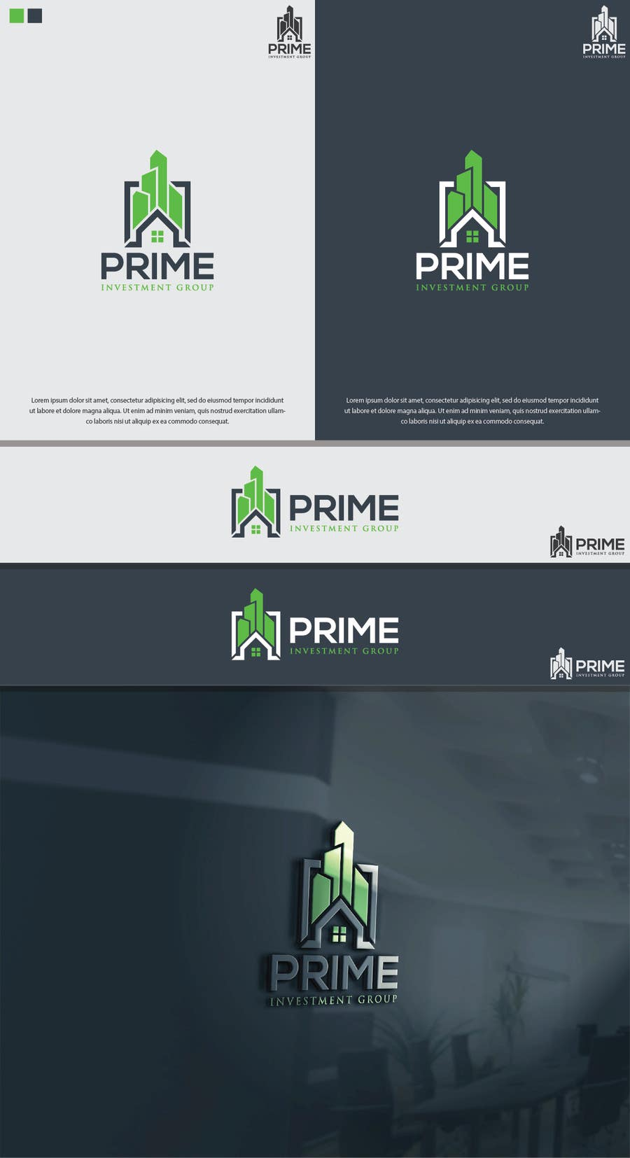 Wasilisho la Shindano #186 la Design a Logo for Prime Investment Group