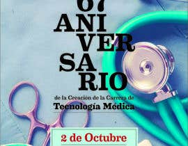 Nro 12 kilpailuun Diseñar un afiche de Aniversario käyttäjältä frannygaiera