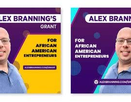 #47 for Instagram Graphic for Alex Branning's Grant For African American Entrepreneurs by Shakiiit