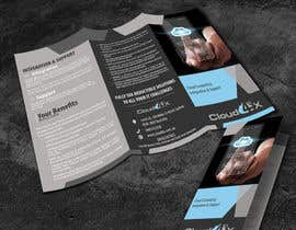 #23 para Design a Brochure for IT Cloud company de ileanastefanescu