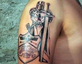#34 untuk Right Bicep Tattoo Draft oleh ilfalimomin