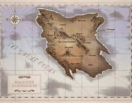 #16 para Design a fantasy map for my novel de Anohreul