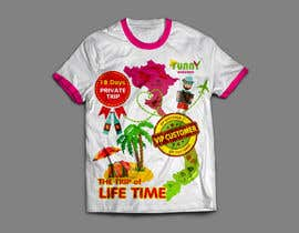 #10 para Thiết kế T-Shirt for Funny Weekend de vkandomedia