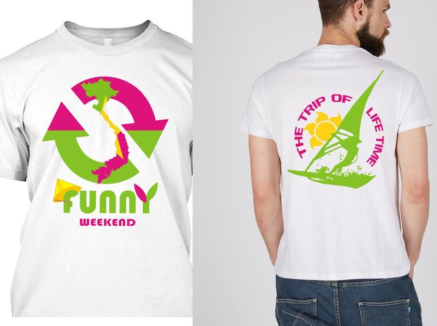 Zgłoszenie konkursowe o numerze #11 do konkursu o nazwie Thiết kế T-Shirt for Funny Weekend