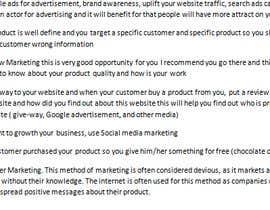Nro 14 kilpailuun Marketing Strategy käyttäjältä Bapoo