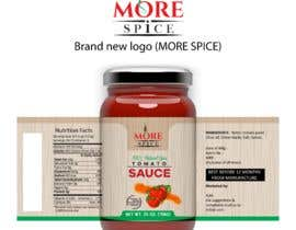 #24 for Come up with brand name + jar label + logo for a condiment/spices selling company by Swoponsign