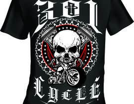 #20 cho Create a Kicka*s Radical Motorcycle T-Shirt Design bởi mj956