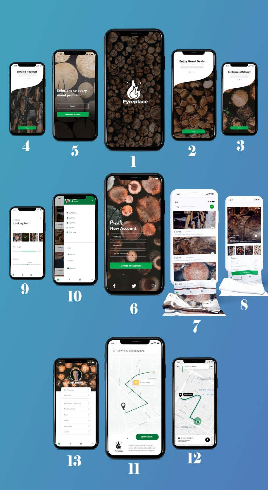 Contest Entry #                                        31                                      for                                         Design a Mobile App Screen Layout Plan