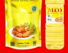#73 untuk Desain packaging minyak goreng sawit merk ALCO oleh andreasaddyp