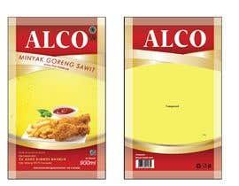#68 untuk Desain packaging minyak goreng sawit merk ALCO oleh feleazar