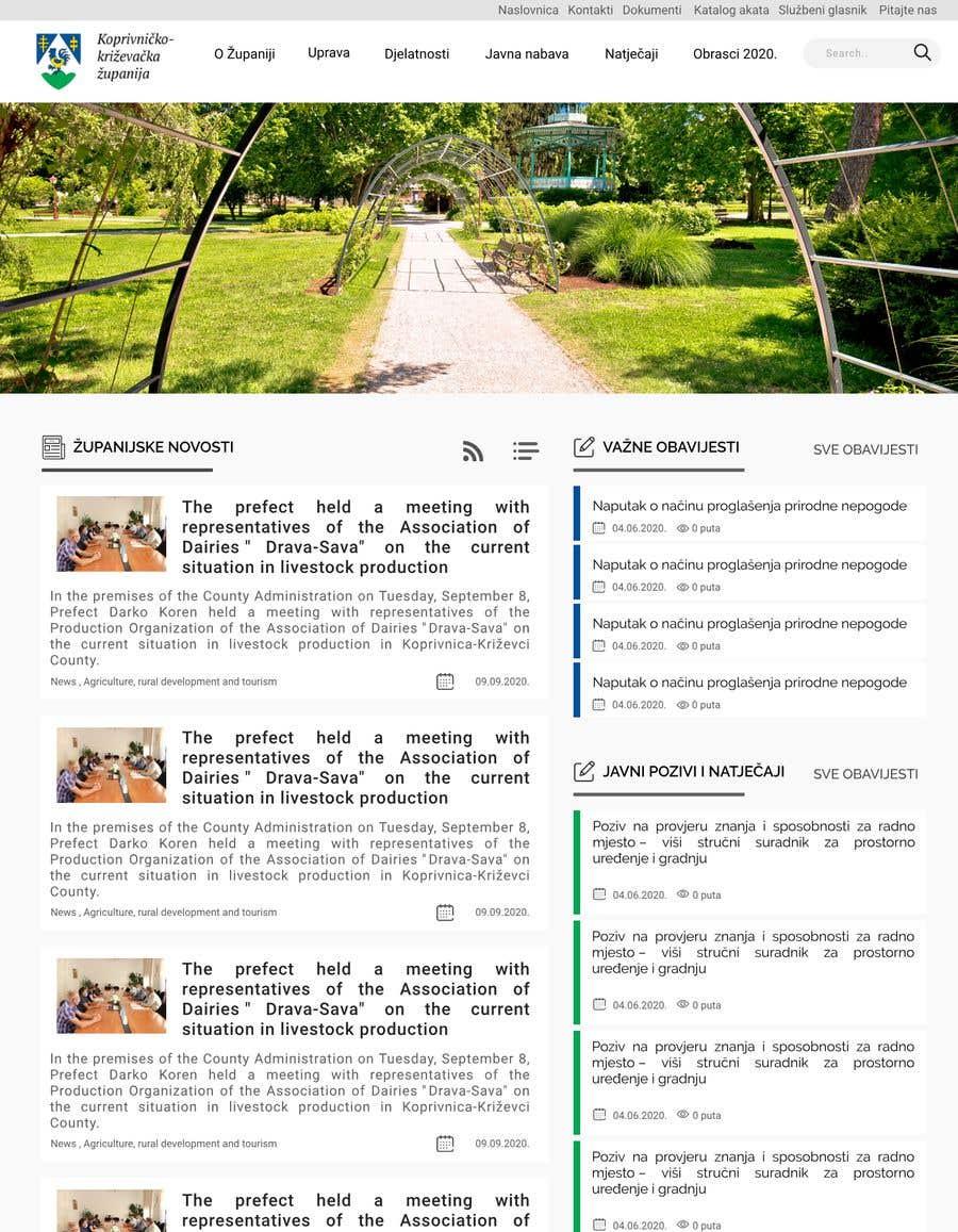 Penyertaan Peraduan #                                        49                                      untuk                                         Home page redesign project