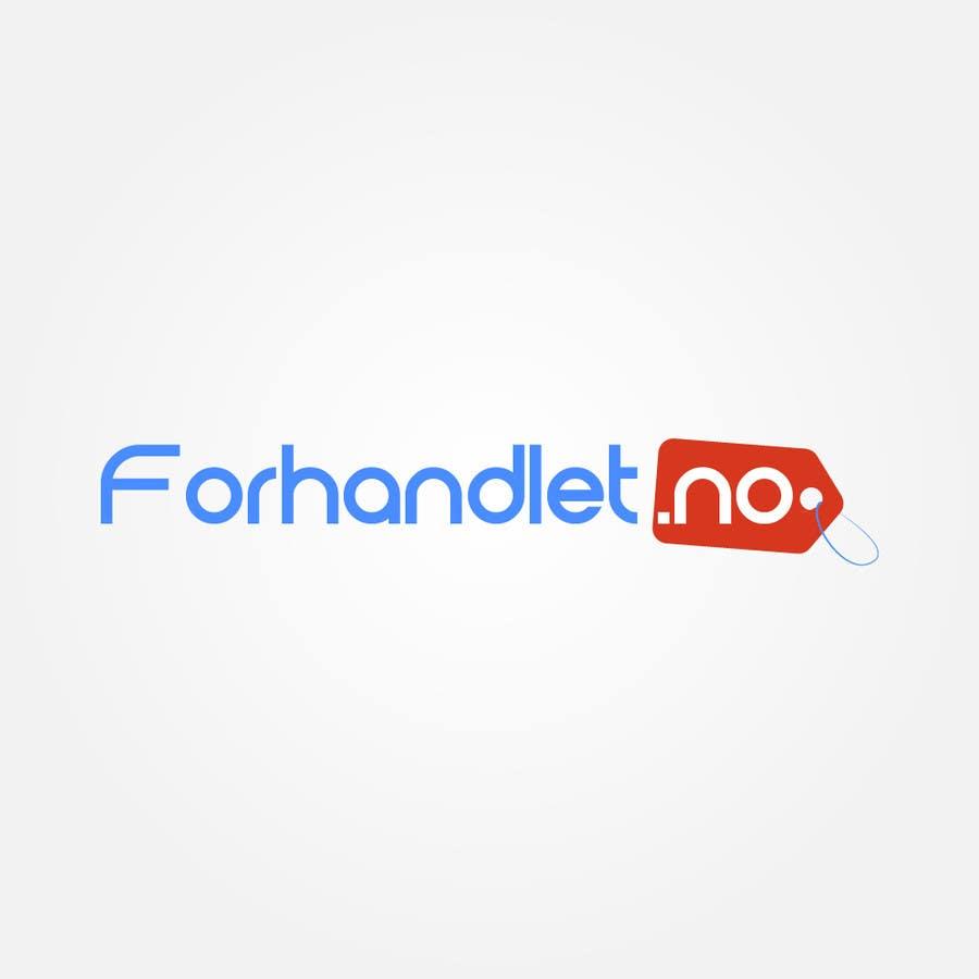 Inscrição nº                                         47                                      do Concurso para                                         Design logo for Forhandlet