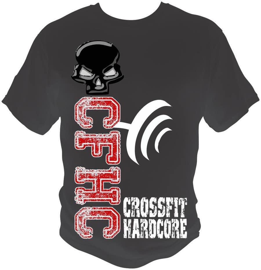 Inscrição nº 35 do Concurso para Simple T-shirt Design for gym. We will buy multiple designs (3 - 5).