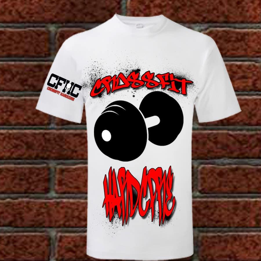 Inscrição nº 12 do Concurso para Simple T-shirt Design for gym. We will buy multiple designs (3 - 5).