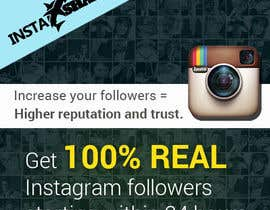 #10 dla Design a Banner for Instagram marketing service przez omwebdeveloper
