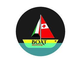 #26 for we are group of people who lived in kuwait, we are renting boats in Canada, we wanted a logo that is a boat with both flags of kuwait and canada (like shown in the picture), we will post it as 9 instagram photos and as the DP! please keep it very simple. af rezaulislam67881