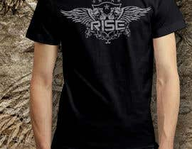 #59 para T-shirt Design for RiSE (Ride in Style, Everyday) por bulbulalam