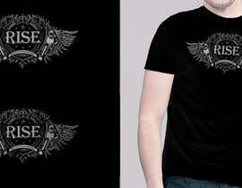 CoreyR tarafından T-shirt Design for RiSE (Ride in Style, Everyday) için no 95