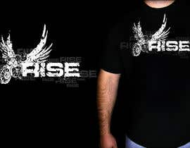 #21 para T-shirt Design for RiSE (Ride in Style, Everyday) por marATTACKs