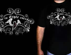 #47 para T-shirt Design for RiSE (Ride in Style, Everyday) por marATTACKs