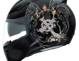 #42 för I need some Graphic Design for a Motorcycle Helmet av Martinnelmb