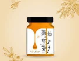 #626 untuk Design a Logo & Jar Label For a Honey Business oleh SALOMESEPHASHVIL
