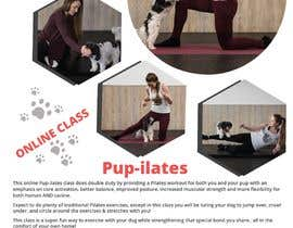 """#206 for Flyers for my dog training class """"Pup-ilates"""" by itsmonowar"""