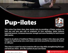 """#218 for Flyers for my dog training class """"Pup-ilates"""" by rifatamanna2011"""