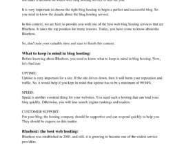 #14 para Blog on Bluehost de Shaqibe