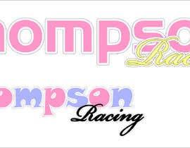 Nro 1 kilpailuun Pink Racing Sticker Design for Little Girl in Vinyl käyttäjältä acvak
