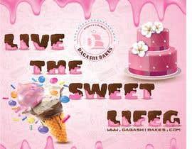 #119 para graphic design for a luxury bakery  27ft wall por mdsujib66