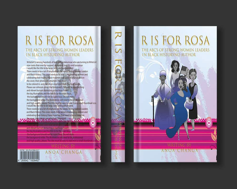Kilpailutyö #                                        33                                      kilpailussa                                         Book Cover - Strong Women Leaders in Black History