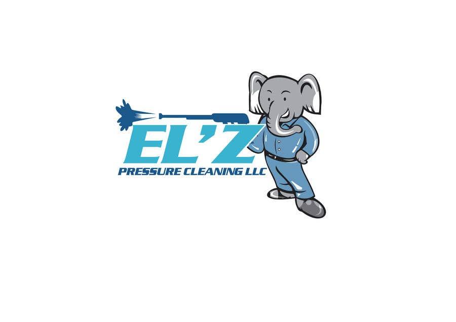 Kilpailutyö #                                        77                                      kilpailussa                                         EL'Z Pressure Cleaning LOGO CONTEST