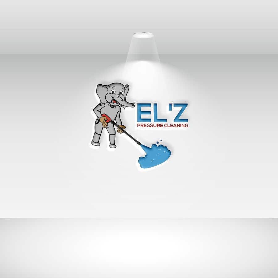 Kilpailutyö #                                        121                                      kilpailussa                                         EL'Z Pressure Cleaning LOGO CONTEST