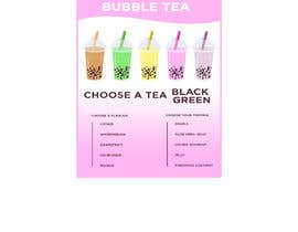 #114 for Menu Bubble tea design af AbodySamy